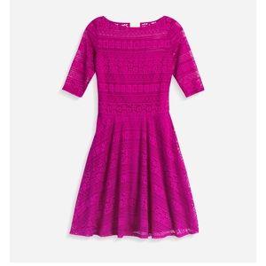 Beautiful Beauport Pink Lace Dress